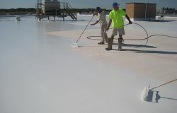 Cool roof coatings