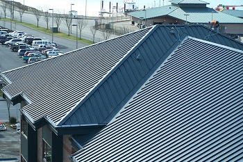 Steeling a look at aluminium roofing