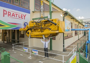 Pratley's famous bulldozer stunt on Friday 13th