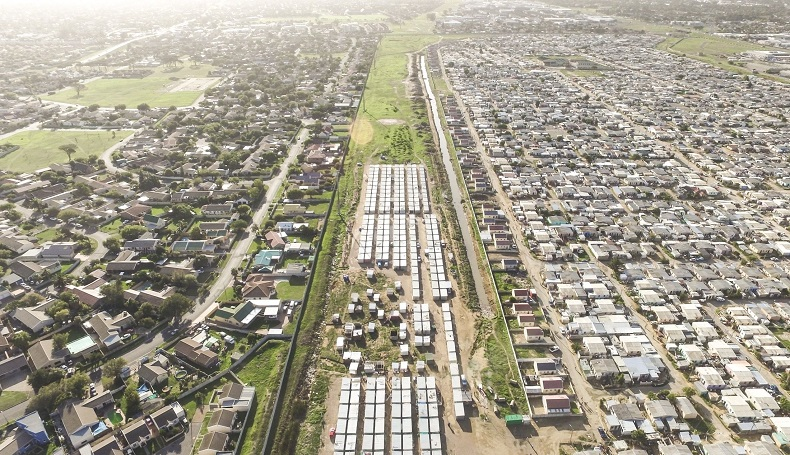 Dealing with apartheid spatial planning