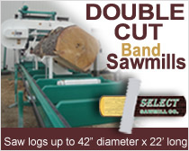 Band sawmill & equipment Manufacturing
