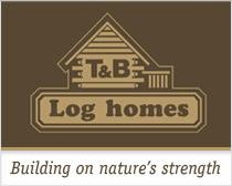 T & B Log homes