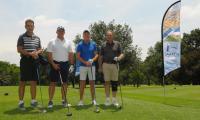 Kiron Team are from left: Rudolf du Plessis (MD, Trustgro Developments), Rean Booysen (MD, Hometalk), Harry Gey van Pittius (MD, Kiron) and Alex van der Schyff (MD, Aeterno Town planning).