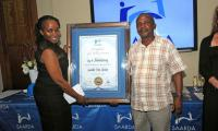 Local Authority Award went to the City of Johannesburg's Elliot Sithole.