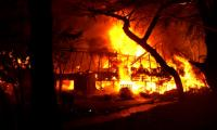 A fire spreads quickly and can destroy everything in minutes. Image: Micon
