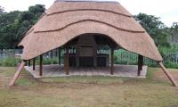 Thatched roofs are used over various buildings like, lapas and braai areas.  Image: Thatch of the Day